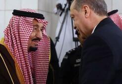 Erdoğandan Suudi Arabistan Kralına teşekkür