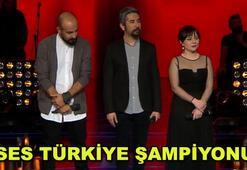 O Ses Türkiyenin şampiyonu o isim oldu O Ses Türkiyede bir ilk...