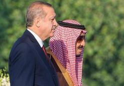 Erdoğan, Suudi Arabistanda