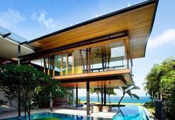 Lüks ve modern bir bungalov tasarımı