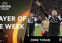 UEFA Avrupa Liginde haftanın oyuncusu Cenk Tosun