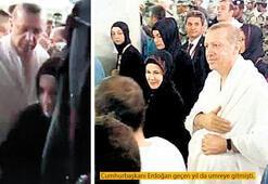 Erdoğan umre yaptı