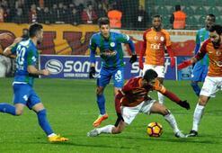 Çaykur Rizespor - Galatasaray: 1-1 (İşte maçın özeti)