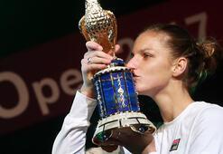 Katar Açıkta şampiyon Pliskova