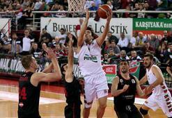Pınar Karşıyaka: 74 -  Gaziantep Basketbol: 67