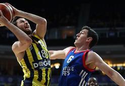 Fenerbahçe Doğuş: 100 -  Anadolu Efes: 74