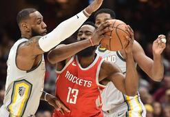 Houston Rockets, Cleveland Cavaliersa fark attı