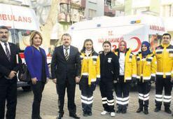 112 Acil Çağrı Merkezi Alaşehir'de hizmete girdi