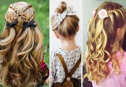Çocuk Saç modelleri (Kolay saç modelleri)