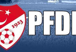 Süper Ligden 2 kulüp PFDKya sevk edildi