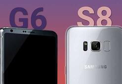 Samsung Galaxy S8 ve LG G6'nın satış tarihi internete sızdı