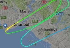 Atatürk Havalimanında havada tehlikeli yakınlaşma