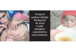 Suriyeliler açlıktan ölüyor