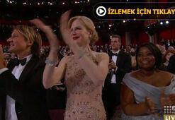 Nicole Kidmanın alkışlaması olay oldu