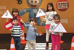 Trafik Eğitim Projesi,  Maltepe AVM'de çocuklarla buluştu