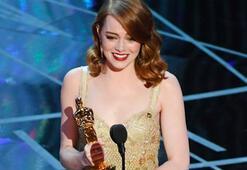 Emma Stone fark attı, Oscarı kaptı