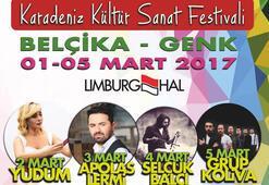 Belçikada Karadeniz Kültür Sanat Festivali