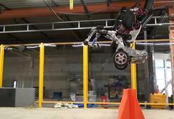 Boston Dynamicsten zıplayabilen robot Handle
