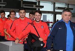 Trabzonspor kafilesi Adanaya geldi