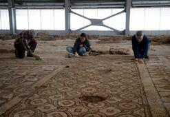 Kilisteki bin 600 yıllık mozaikler turizme açılacak