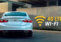 Chevroletten araç içinde sınırsız internet