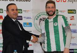 Torku Konyaspor, Nejc Skubic ile sözleşme imzaladı