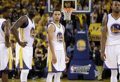 Durantsiz Warriors rekorunu koruyamadı