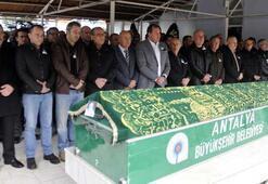 Aybars Kılıçhanın cenazesi, Antalyada toprağa verildi