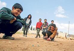 Marin köyündeki çocuklar çok mutlu