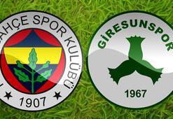 Fenerbahçe Giresunspor maçı ne zaman saat kaçta hangi kanalda