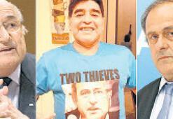 Maradona'dan 'hırsız' mesajı