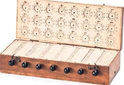 1600'lerin hesap  makinesi satışta