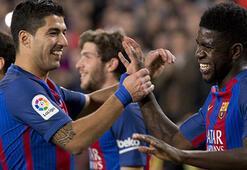 Barcelona 1 maç fazlasıyla zirvede