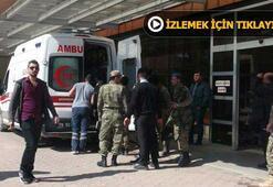 Son dakika: PYDnin Mümbiç'ten havanlı saldırı düzenlemesi sonucu 4 Türk askeri yaralandı