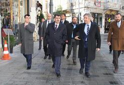 İstanbul Valisi Vasip Şahinden Beyoğluna ziyaret