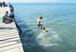 Edremit Körfezi'nde 'deniz sezonu' açıldı