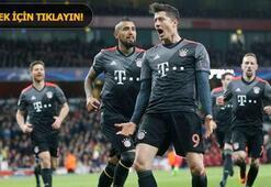 Arsenal - Bayern Münih: 1-5 (İşte maçın özeti)
