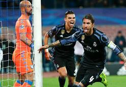 Napoli - Real Madrid: 1-3 (İşte maçın özeti)