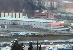 İstanbul Sefaköyde yangın paniği