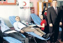 Öğrencilerden kan bağışında rekor