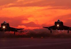 Son dakika: Kuzey Iraka hava harekatı