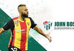 Bursaspor, John Bostocku transfer etti