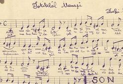 İstiklal Marşının orijinal bestesi dijital ortamda