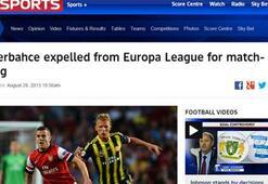 Dünya Fenerbahçe kararını konuşuyor