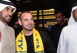 Wesley Sneijderdan G.Saraya büyük jest