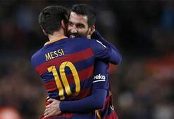 Wenn Messi fehlt, ist halt Arda da