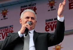 Başbakan Yıldırım: Kılıçdaroğlu gitisin evet versin