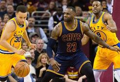 Golden State Warriors, Cleveland Cavaliersa fark attı