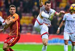 Galatasaray - Gençlerbirliği: 3-2 (İşte maçın özeti)