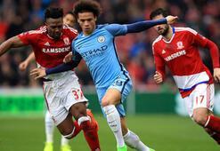 Middlesbrough-Manchester City: 0-2